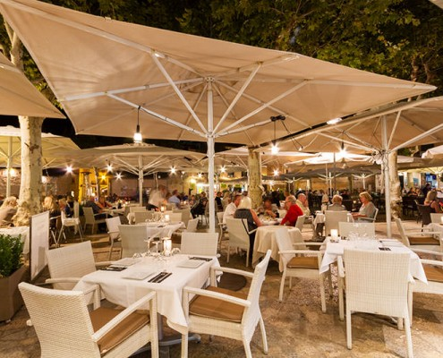 romantic restaurant pollensa